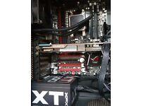 Gaming PC, FX 8350 4GHz Watercooled, 3GB GPU HD7790, 8GB RAM, SSD