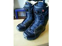 Salomon F22 snowboard boots size 8. (Maybe 8.5)