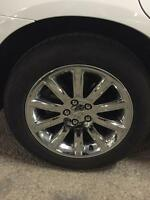 Chrysler 300 Mint 18' chrome wheels with tire for sale