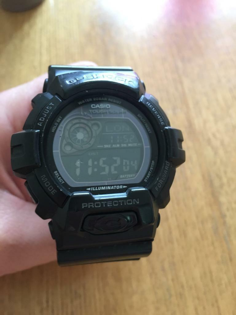 CASIO G Shock BLACKOUT Solar Powered Self Illuminating GR8900a1 erin Sherburn in Elmet, West YorkshireGumtree - Casio G Shock GR8900a1erSolar PoweredNegative DisplaySelf Illuminating BLACKOUT model This watch is used but in perfect working condition £50 or nearest offer Call Andy on 07756 137 661Thanks!