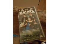 Maverick VHS Tape