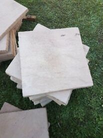 Patio paving slabs