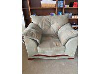 Single arm sofa