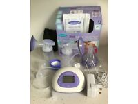 Breast pump - double electric Lansinoh. Used for 1 week. Perfect condition.