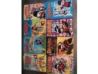 8 x Beano annuals from 1980 to 2002