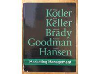 Marketing Management by Kotler, Keller, Brady, Goodman and Hansen 2009
