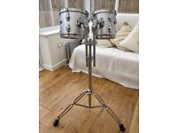 Maxtone Mirage 8x8 & 10x8 Toms + Double tom stand