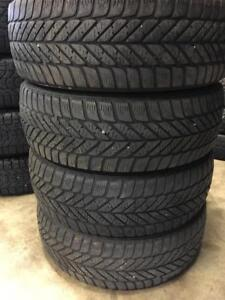 Set of 205/55R16 winter tires