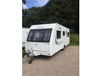 Lunar Quasar 525 2015 touring caravan for sale - rare 5 berth with all the extras to get started!!