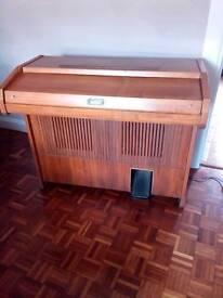 Electric organ vintage Galanti electronic Napoli transisorized