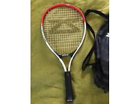Childs tennis racket with cover size 21 inches