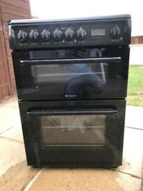 Hotpoint 600 electrically cooker black