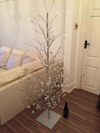 Gisela Graham wire tree with Cut Perspex ball ends.