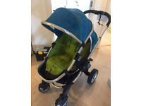 iCandy Peach 1 double buggy with additional carry cot