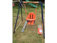 Kids 2 in 1 Deluxe Garden Swing