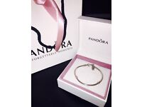 Pandora Silver Bracelet - 17cm