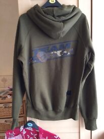 Korda carp fishing hoodie, new w/out tags