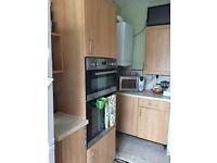 Kitchen units B&Q Cherry range plus appliances