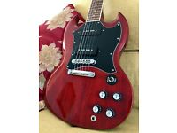 Gibson SG Classic, P90s, Cherry Red, Bound Fretboard, Dot Inlays, 2010