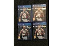 PS4 ufc 3 brand new sealed