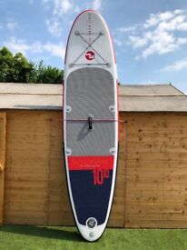 """Two Bare Feet Inflatable Stand Up Paddleboard (10'10 x 6"""")"""