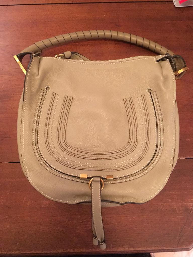 Chloe Marcie hobo handbag - medium, leather