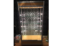 Full Standing Lockable Display Cabinet