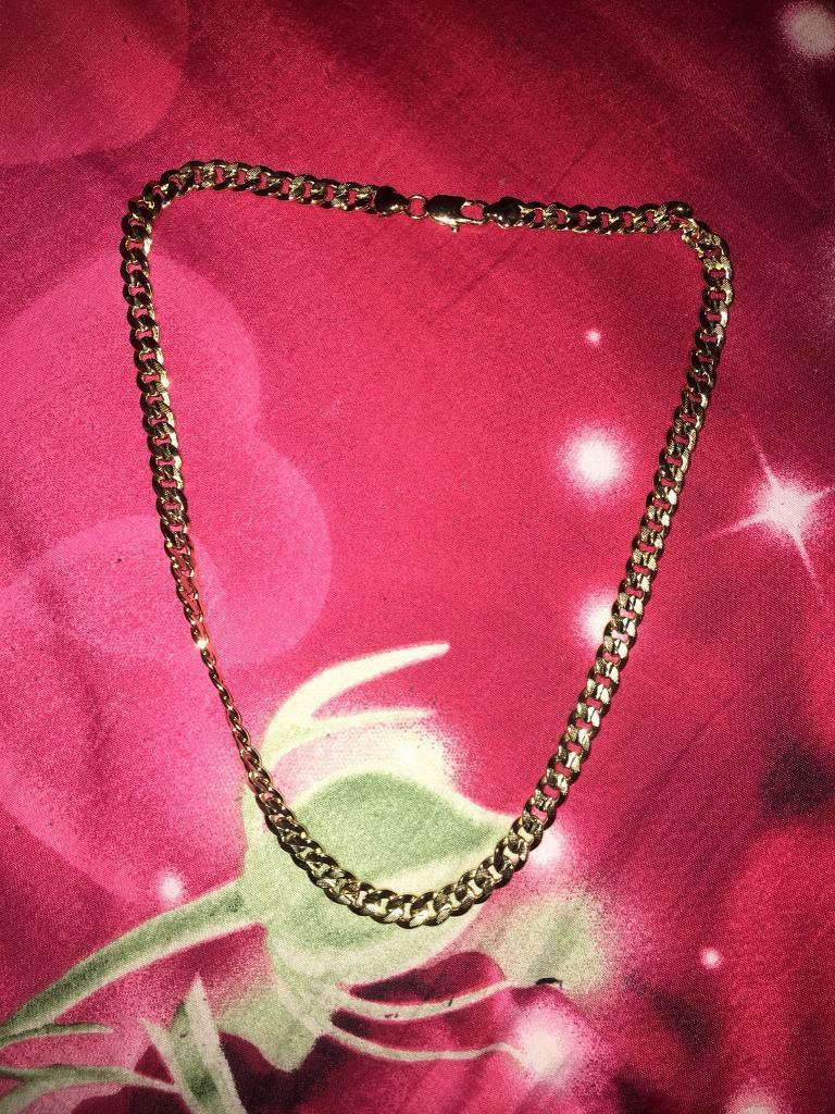 Gold Necklace men/women chain hip hop | in Liverpool Street, London ...