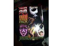 Horror DVD pack there is 20 DVD's