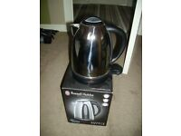 RUSSEL HOBBS POLISHED CHROME ELECTRIC KETTLE