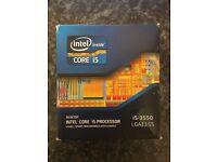 Intel i5-3550 Processor.