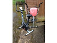 Bike & Abs trainer. All in good condition.