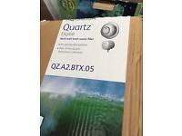 Aqualisa quartz bath filler pumped