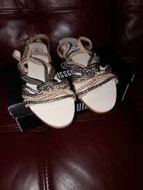 Missguided Sandals size 7