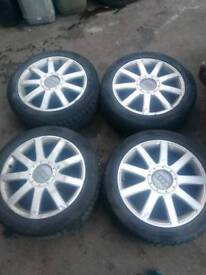 Alloy wheels 5x112 17'