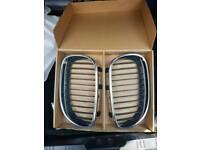 Bmw 5series e60 shape kidney grills 3series gear knob