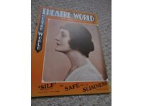 9 Theatre World magazines, 1930s