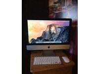 """Pristine condition 21.5"""" iMac 2.9GHz quad core processor 1TB memory"""
