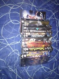 WWF WWE Vhs Collection