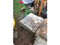 12x free concrete slabs