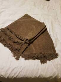 Chenille Throw x 2 from M&S