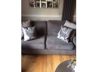 Grey sofa 2 seater