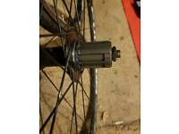 Fulcrum racing 7 front and rear wheels - Shimano freehub