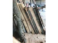 Oak ash elm cherry timber