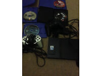 PS2 Slim 2 Controllers 64 MB Memory Card **19 Games** & 2 DVDs