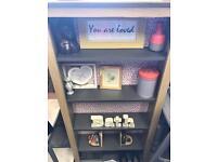 Ditsy kitsch bookshelf | storage / shoe rack