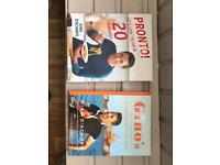 Two Gino D'Acampo Cookery Books
