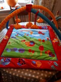 Mothercare baby play gym activity mat