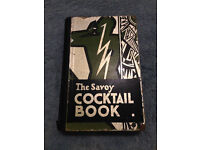 1st Edition Print 1930 Savoy Cocktail Book