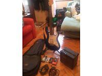 electirc guitar set